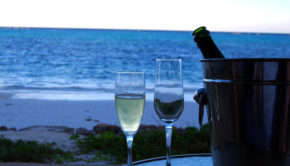 Romantic toast on the beach.          Photo credit: BBM Explorer via VisualHunt / CC BY-ND