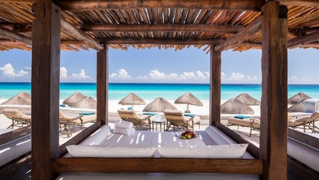 JW Marriott Cancun Resort & Spa is a luxury Mexico beach hotel.