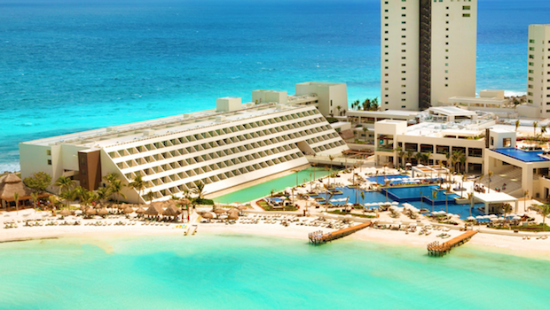 Hyatt Ziva Cancun in Mexico.