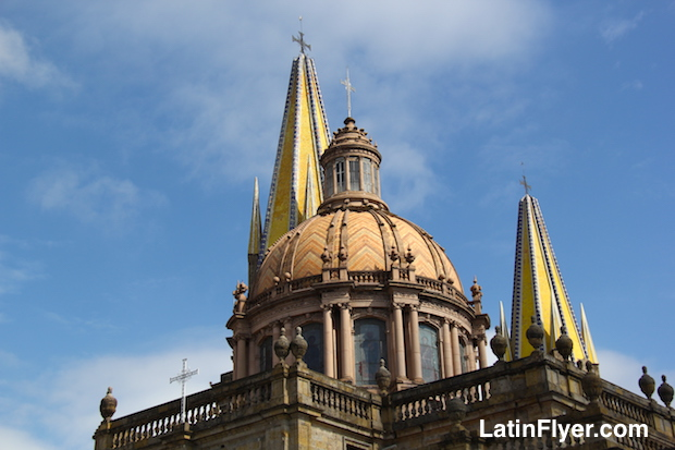 The Guadalajara Cathedral, in Mexico.