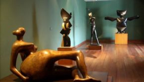Museo Botero, the Botero Museum in Bogota, Colombia.