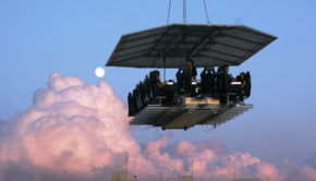 Casa Velas hotel is serving Dinner in the Sky in Puerto Vallarta.