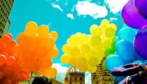 LGBT pride in Bogota, Colombia.          Photo: Círculo LGBT Uniandino via Visualhunt /  CC BY