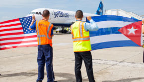 JetBlue is offering triple points on its flights to Cuba.