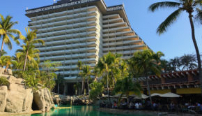 The Princess Mundo Imperial Acapulco hotel, which Howard Hughes briefly called home.