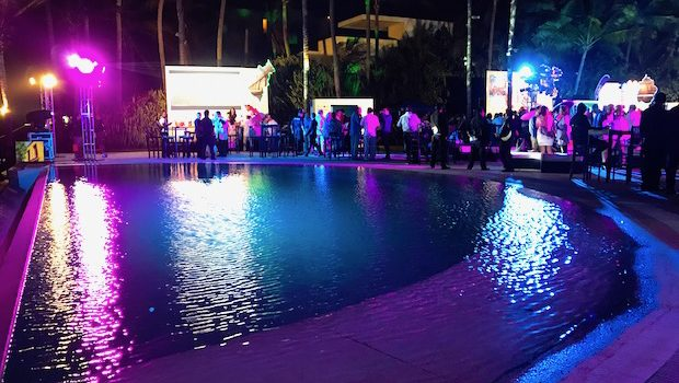 Casa del Mar served as the Acapulco setting for a night of Mexican culture.