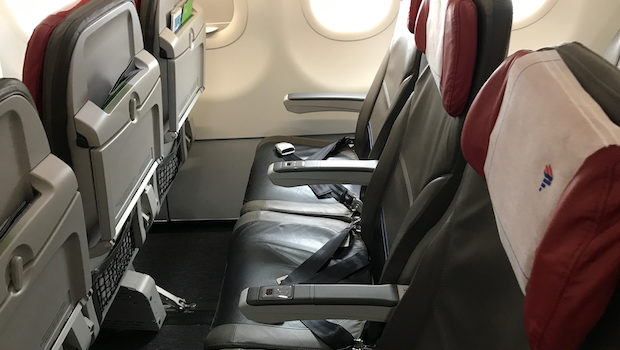 LATAM Airbus A321 features all economy airline seats.