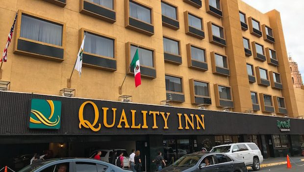 The Quality Inn Chihuahua hotel is located downtown.