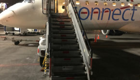 Time to board: Aeromexico Connect Embraer 190 at Mexico City airport.
