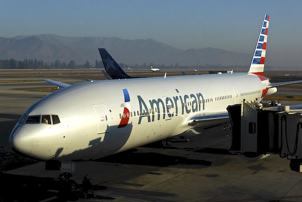 Airline Review American Airlines Boeing 777 Santiago De