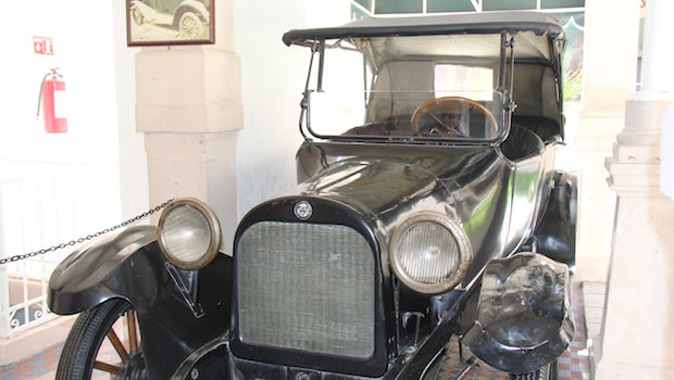The Dodge car that Pancho Villa drove when he was assassinated.