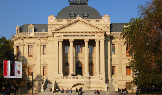 The Museum of Fine Arts in Santiago, Chile.