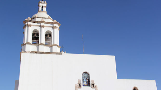 Colonial architecture shows the religious history of Chihuahua, Mexico.