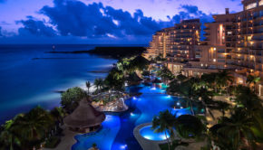 The Grand Fiesta Americana Coral Beach hotel in Cancun.