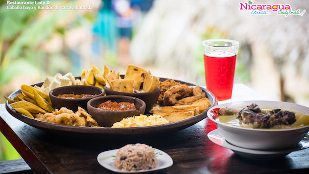 Lady D is a popular restaurant in the Corn Islands, Nicaragua.