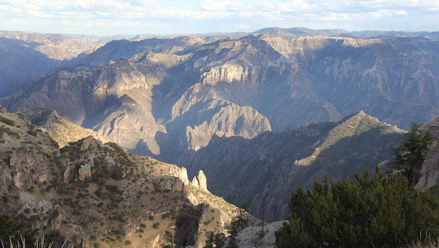 The Copper Canyon is one of the most scenic places to visit in Mexico.