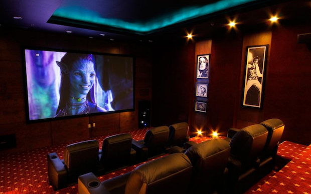 The Cinema Room at the Staybridge Suites Chihuahua hotel in Mexico.