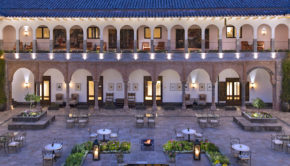 JW Marriott El Convento Cusco, in Peru.