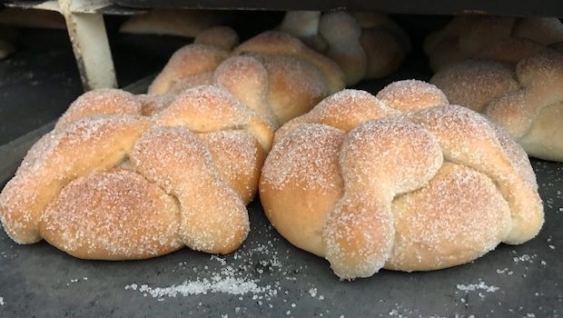 """Pan de muerto,"" Bread of the Dead is served for Día de los Muertos in Mexico."