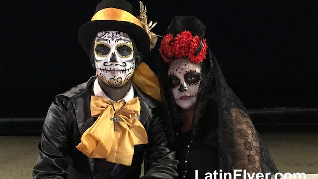 Day of the Dead is a festive affair in Mazatlan, Mexico.