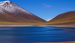 A scenic lake in Chile, which is named top destination by Lonely Planet. PHOTO: Visualhunt.com