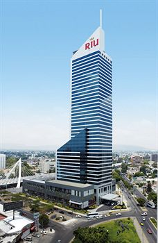 The Riu Plaza Guadalajara Hotel, one Latin America's tallest hotels