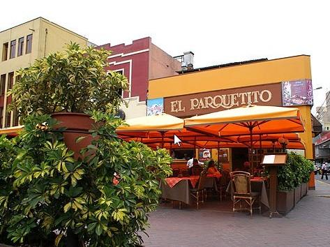 El Parqueo This Is A Fantastic Simple Little Restaurant That Offers Up Peruvian Cuisine As Well Peru S Famous Pisco Sour Located In Parque Kennedy
